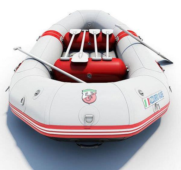 RAFTS :: 13' Azzurro Mare River Raft